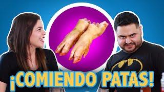 PROBANDO PATAS DE PUERCO | Tacos o Tostadas | El Guzii