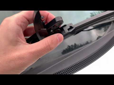 Bosch Icon Windshield Wiper Blade Installation On Honda Civic In 4k