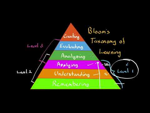 The learning focus for Level lll and AM exam support