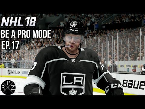 NHL 18 Be A Pro - Los Angeles Kings vs Buffalo Sares Ep.17 (Xbox One)