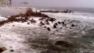 """plaja Modern iarna """"17 faleza Marea Neagra scandaloasă 6ian."""