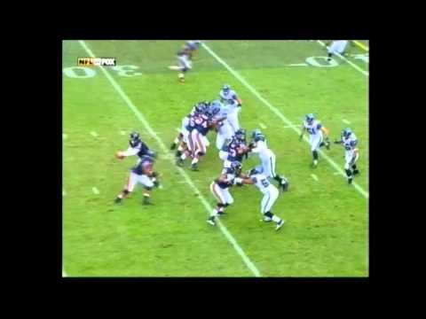 2006 NFC Playoffs: Rex Grossman 68 yard touchdown pass vs Seattle