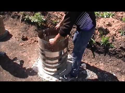 Наращивание буронабивных свай