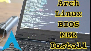Installing Arch Linux using the BIOS/MBR method