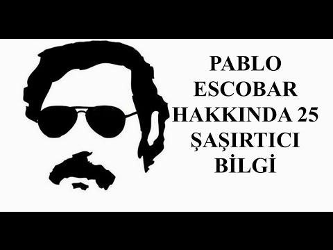 Dünyanın En Büyük Uyuşturucu Kralı Pablo Escobar Hakkında 25 Şaşırtıcı Bilgi