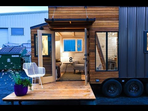 Tiny House Builder's Gorgeous New Model