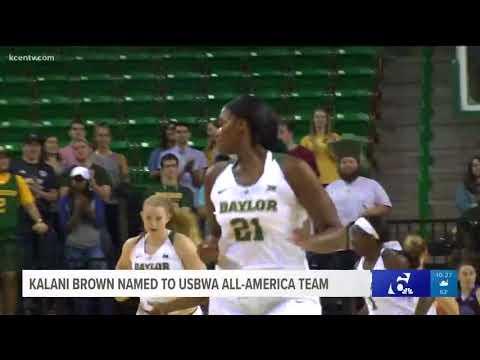 Kalani Brown named to USBWA All-America team