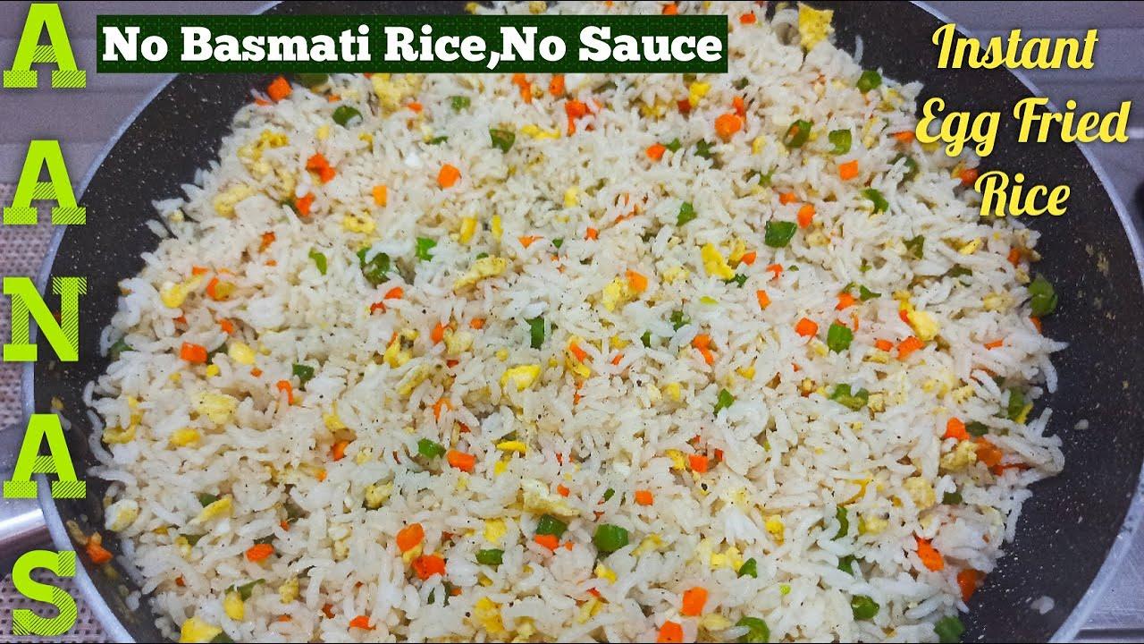 Egg Fried Rice in Tamil/Hapima Fried Rice Recipe/Instant Egg Fried Rice in Tamil/Egg Rice in Tamil