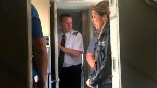 Explosion de moteur : le sang-froid de la pilote du Boeing