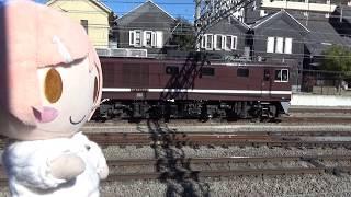 急行ゆるキャン△ 梨っ子号、[甲府駅]入線シーン
