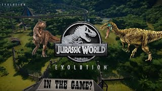 BRAND NEW DINOSAURS COMING TO JURASSIC WORLD: EVOLUTION AS DLC? MODS? CHEATS?