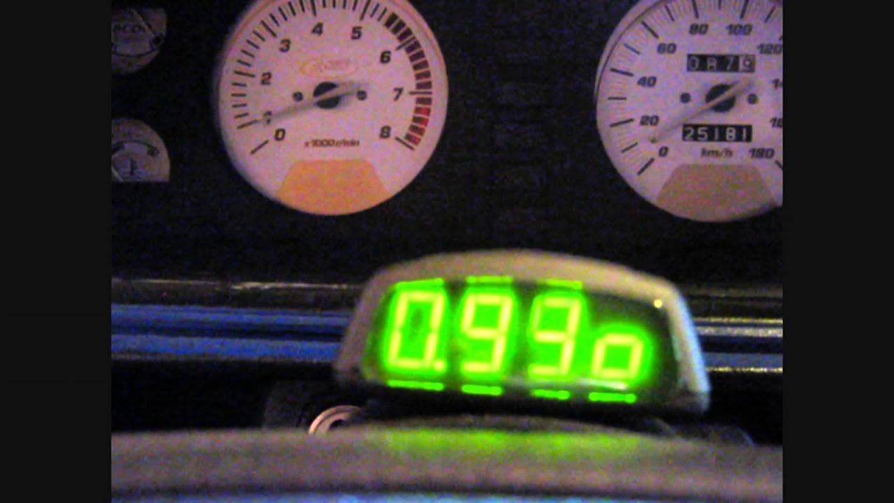 Бортовой компьютер БК-06 в работе на ВАЗ-2107