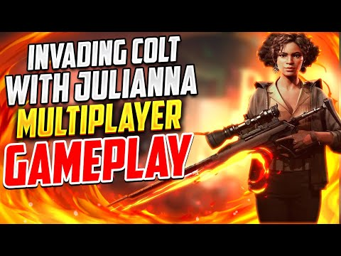 DEATHLOOP GAMEPLAY MULTIPLAYER | INVADING COLT WITH JULIANNA | PVP INVASION |