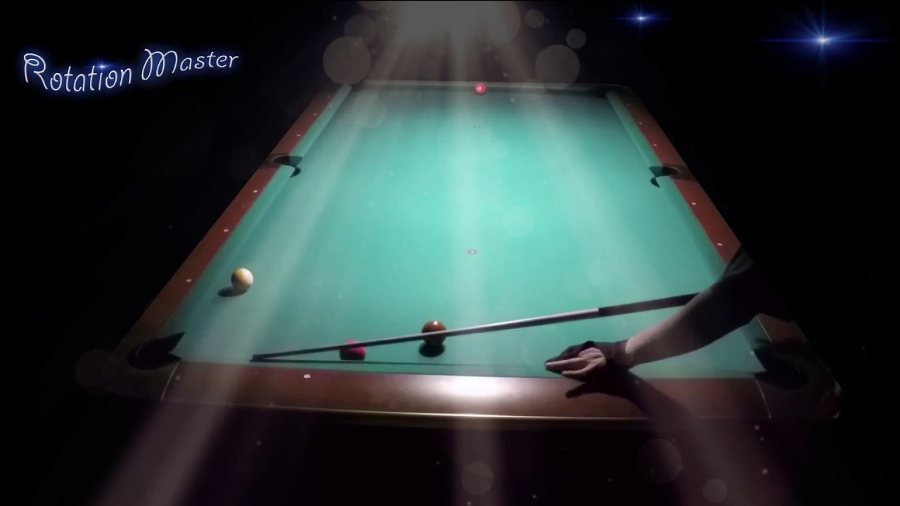 Trying Shane Van Boening draw spin shots most advanced