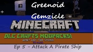 Attack a Pirate Ship - Minecraft Don