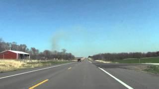 Car Camera - U.S. 34 - Seward to Junction 34/79 . 2014 ( アメリカ国道34号線 )