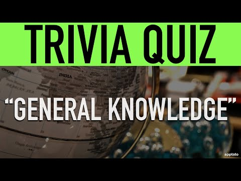 Trivia Questions And Answers (General Knowledge Trivia Quiz)   Family Game Night #StayHome