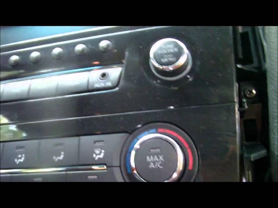 2014 Nissan Altima (Radio Install) pt.I - YouTube | 2014 Nissan Altima Wiring Diagram |  | YouTube