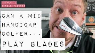 CAN A MID HANDICAP GOLFER PLAY BLADES?