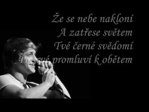 Tomáš Klus - Nina (with lyrics)