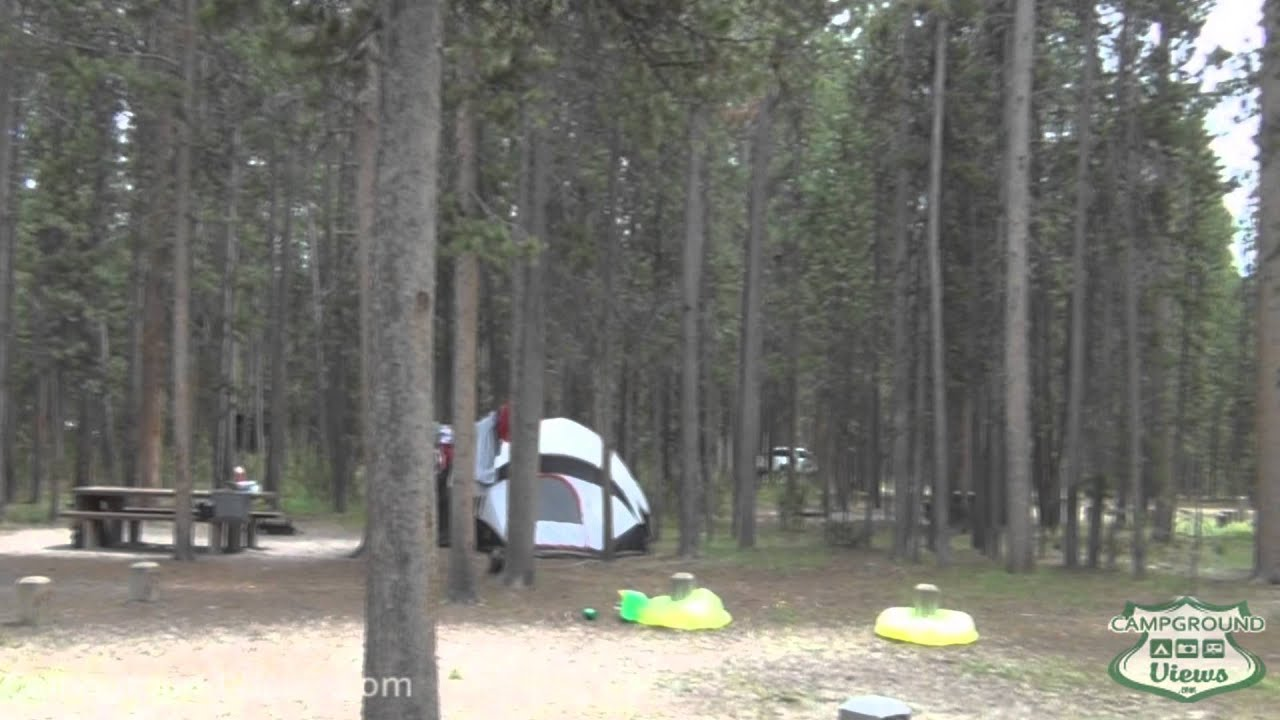 Camping near west yellowstone mt
