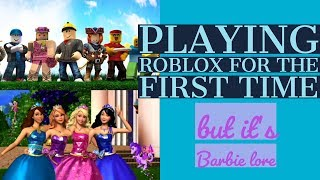 Roblox and Barbie with the Boi's