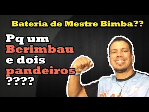 Formação da BATERIA do MESTRE BIMBA? / Vlog 03 - Curso de Capoeira ONLINE & GRATUITO