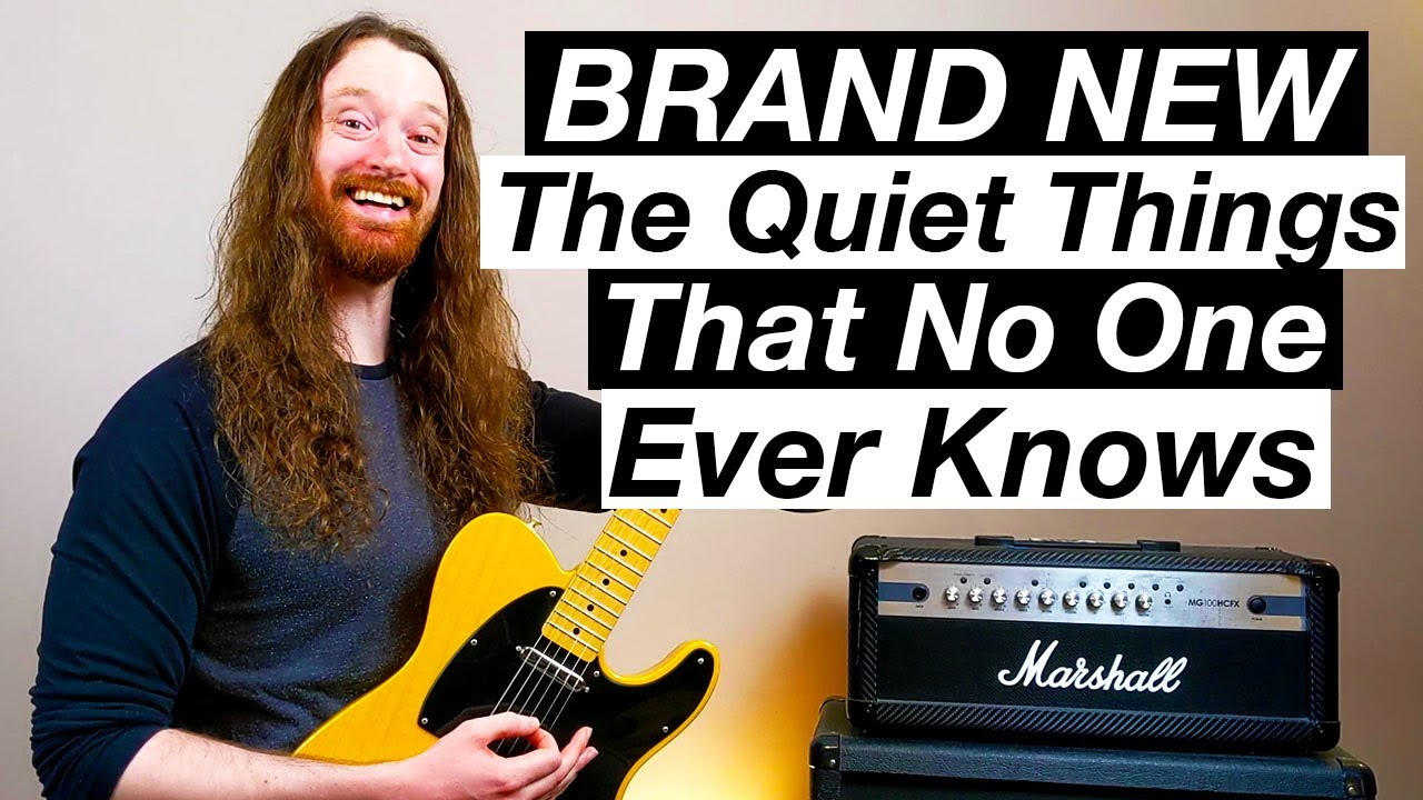 The Quiet Things That No One Ever Knows by Brand New   Guitar Lesson &  Tutorial