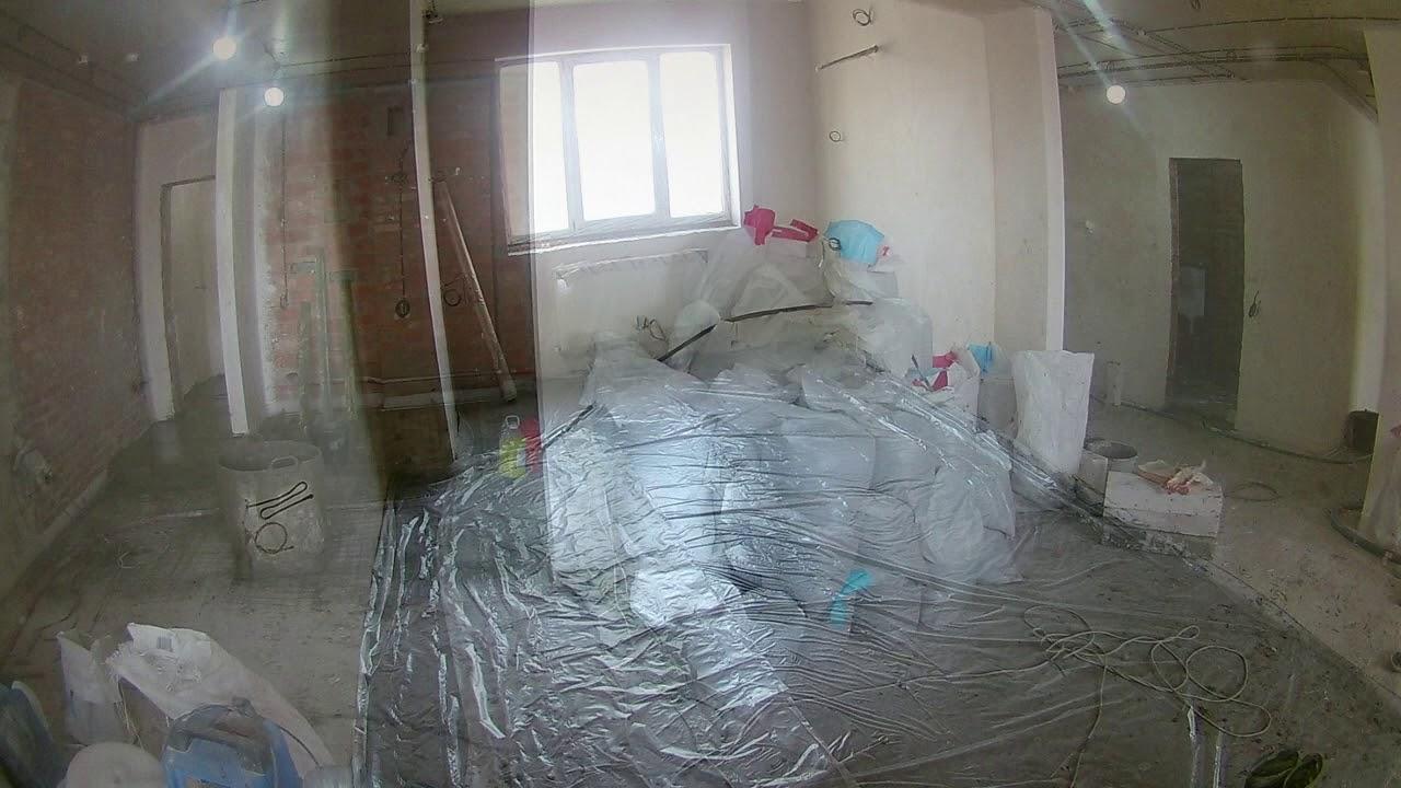 Стяжка пола в квартире 120 кв