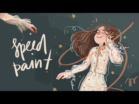 speedpaint // sparkle party