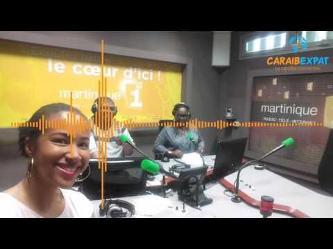 Caraibexpat dans le journal de 13h de Martinique 1ère radio - 15/03/2017