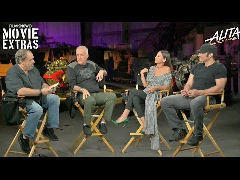 ALITA: BATTLE ANGEL | James Cameron, Robert Rodriguez, Jon Landau & Rosa Salazar Q&A