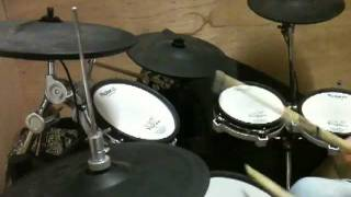 Darkness - Dinner Lady Arms (Drum Cover) - By John Salisbury