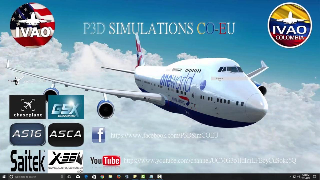Tutorial Como Instalar IVAP en P3D V4/ Tutorial How to Install IVAP in P3D  V4