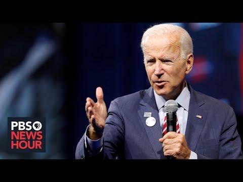 WATCH: Biden calls for Trump's impeachment