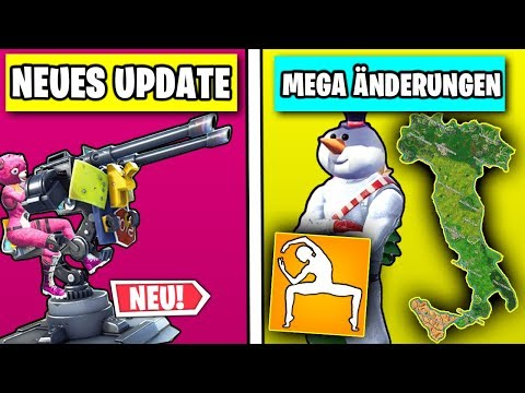 Neues MEGA Update 🎃 VIELE Änderungen - Patchnotes, Skins, Tänze | Fortnite Season 6 Deutsch German