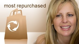 Most Repurchased Products (Inspired by Jen Luv