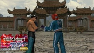 Tekken Tag Tournament HD: Jin Kazama & Hwoarang