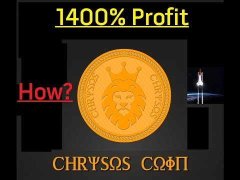 HOW I MADE 1400% PROFIT WITH CHRYSOS COIN LENDING ICO REVIEW AND UPDATE