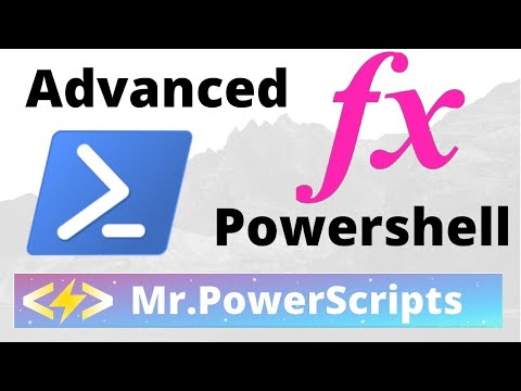 Introduction to Advanced Function Parameters in Powershell