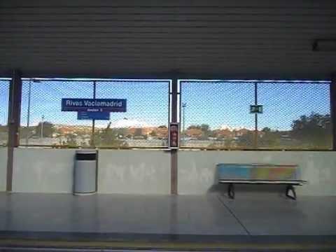 metro de madrid tfm l9 rivas vaciamadrid rivas