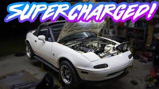 Mazda MX-5 Miata NA Supercharger 200hp+ FFS Kit