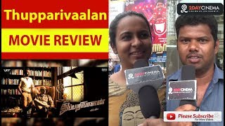 Thupparivaalan Movie Review | Vishal | Prasanna - 2DAYCINEMA.COM
