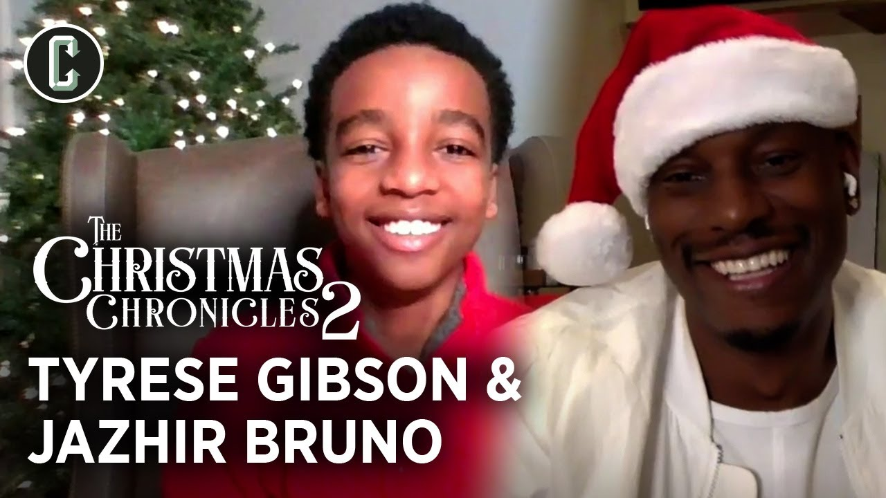 Christmas Chronicles 2: Tyrese Gibson and Jahzir Bruno on Sequel