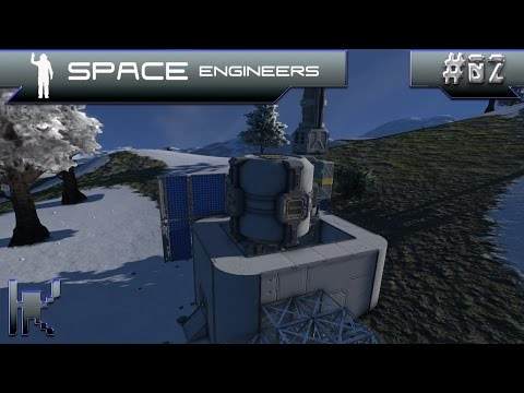 Let's Play Space Engineers - Episode 2: Expanding The Base & Dealing With Wall Climbing Wolves!