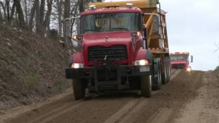 Gravel Hauling and Dumping