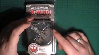 11th Legion Presents: X-Wing Minitaures Game HWK 290 Unboxing