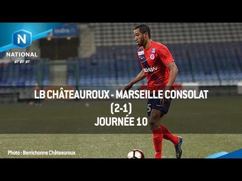 J10 : LB Châteauroux – Marseille Consolat (2-1), le résumé