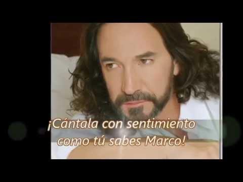 LA VENIA BENDITA Marco Antonio Solís  (LETRA)