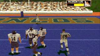 NCAA Football 2001 Secret Feature insanity